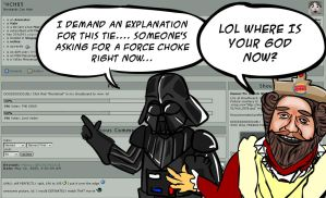 Vader demands an explanation.. by NCH85