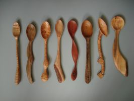 Eight Spoons by Sp00ntaneous