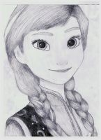 Anna drawing by IAmZBEST