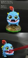 Skylanders articulated Wrecking Ball by Jin-Saotome