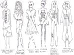 Design Doodles- Womenswear by dontcallmehuman