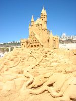 sand house by MissKayaStock