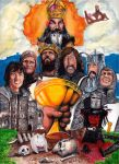 Monty Python and The Holy Grail - 40th Anniversary by smjblessing