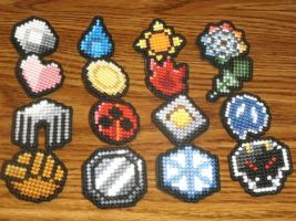 Pokemon - Kanto/Johto Badge Compilation by UWorlds