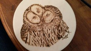 Owl Mates by TheRedMeadows