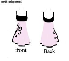 dress design 3: pink by raindrops-on-roses13