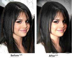 Selena Gomez Photo re-touching by scr3aam3r