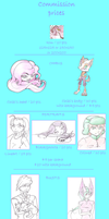 My Commissions - Feb 2013 - SALES OPEN by Rena-Circa
