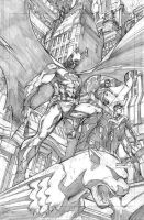 BATMAN - Dynamic trio - by Cinar