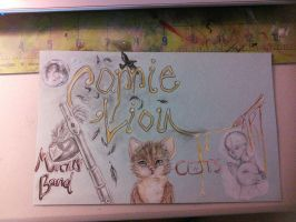 cats and flutes by conwolf