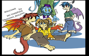 NeoPet Userpage Cover by DragonBlueflame
