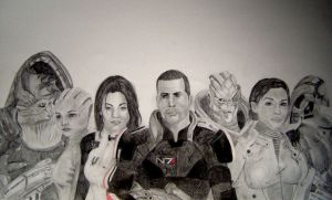 Mass Effect by GreyIce337