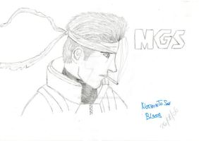 Snake - MGS by NothinToSay