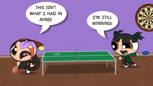 Table Tennis, Anyone? by GeoffNET