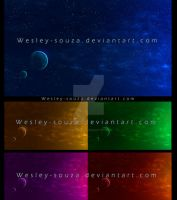 Premade Space In Different Colors by Wesley-Souza