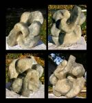 Alabaster Sculpture collage by bluesman219