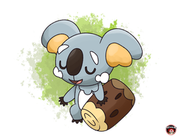 NEKKOALA NEW KOALA POKEMON SUN MOON by Alexalan