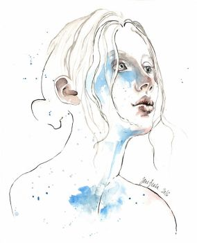 Winter 2016, watercolor by jane-beata