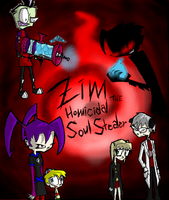 Zim The Homicidal Soul Stealer Cover by InsanelyADD