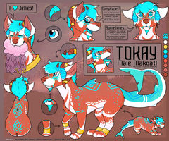 OC: Tokay the Makoatl~ by c-Chimera