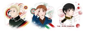 APH- The Axis Powers by Sukai-yume