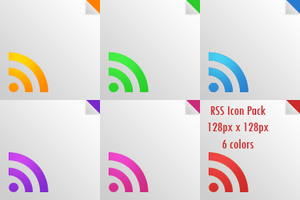 RSS Icon pack by paluch979