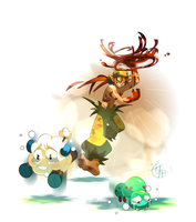 Dofus, hunter's profession by tchokun