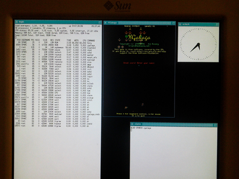 XGalaga - Running on the SPARC ISA by RedFalcon696