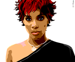 Kelly Rowland by srrh