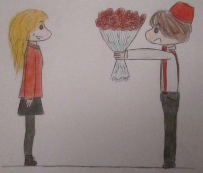 Valentine's Day - Amy Pond and the Doctor by DoctorSWHolmes