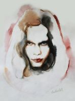 Ville Valo Watercolour Version by Katherine-Dae