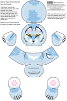 Sewbies design: Snow wolf by goiku