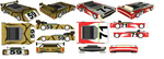 SketchUp - C. Thunder's Car and Mickey Rogers' Car by TeamFaustGames