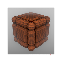 Terracotta Cube by TomWilcox