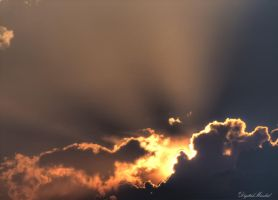Burning clouds by digitalminded