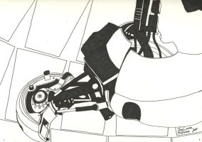 GLaDOS by iammemyself