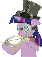 Twilight with crossbow by DrakoDarker