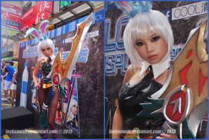 Cool Cosplay Girl HK - League of Legends - Riven by leekenwah