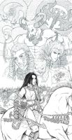Laukun, Forger of Sarkanid Emp by Archaia
