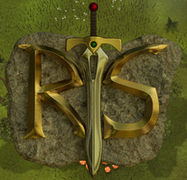 My revised Runescape Logo by Slitharg
