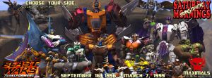 SATURDAY MORNINGS FOREVER: BEAST WARS MAXIMALS by WOLVERINE25TH