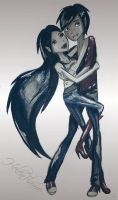 MarshallXMarceline by HelenFlame