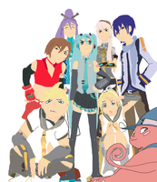 Soul Eater x Vocaloid by Gviruszombies