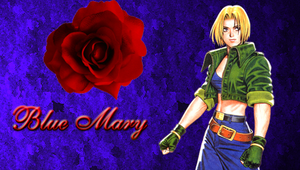 Blue Mary Rose of Love by WhiteAngel50000