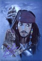 Captain Jack Sparrow by goldenrod1034