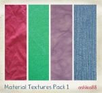 Material Textures pack 1 by ashzstock