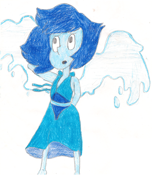 Lapis from Steven Universe! by TheAmazingNSixtyfour
