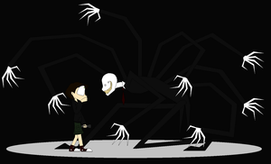 The Slenderman by Child-Of-Hades