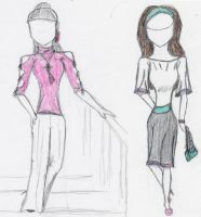 Project Runway Contest- Episode 5 Marie Claire by Kimiko-Takahashi-tan
