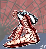 Perspective-spidey by 1amm1